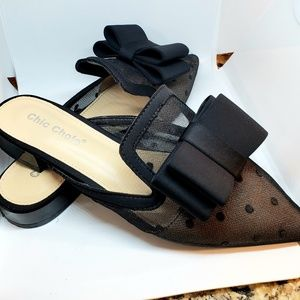 Adorable Chic Chole Mules, 37